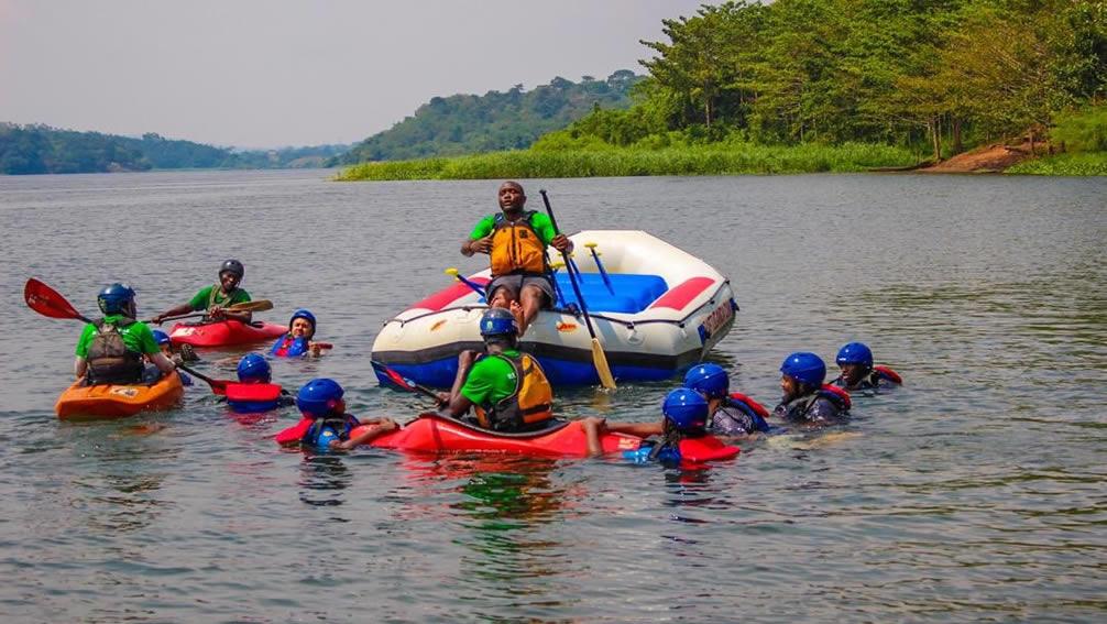 Kayaking jinja