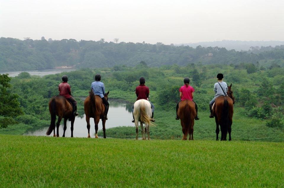 horse back riding jinja